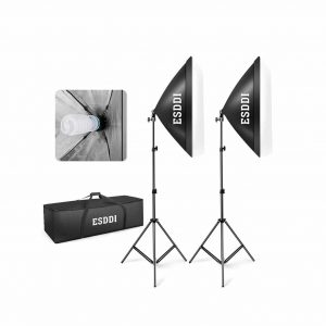 ESDDI Softbox Photography Lighting Kit