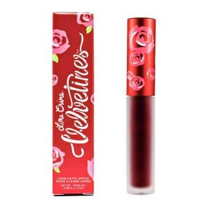 Lime Crime Velvetines Long-Lasting Liquid Matte Lipstick with French Vanilla Scent