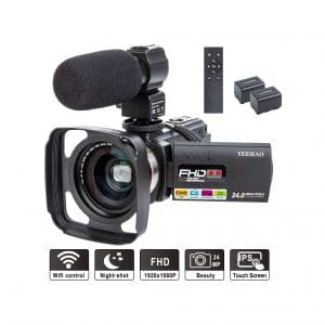 YEEHAO Camcorder Video Camera 1080P
