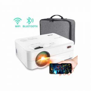 ARTlii Mini Projector 2 HD WI-FI Bluetooth Projector