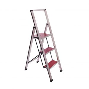 Aluminum Folding 3 Step Ladder
