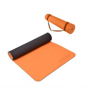 Chebeenly Yoga Mat Exercise 6mm Non-Slip Mat