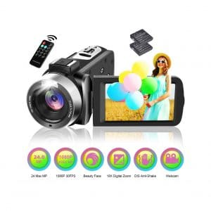 Longin Camcorder Video Full HD 1080P Camera