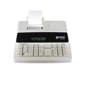 Monroe (1) Genuine 12-Digit Printing Calculator