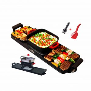 SKAIVA Hot Pot 3 In 1 Electric Indoor Grill