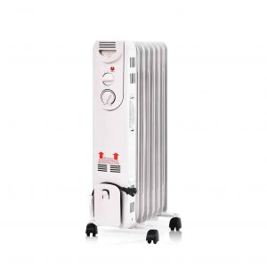 Tangkula 1500W Oil Radiator with Adjustable Thermostat