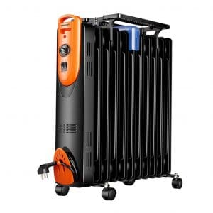 WWNN Indoor Oil Filled Portable Heater