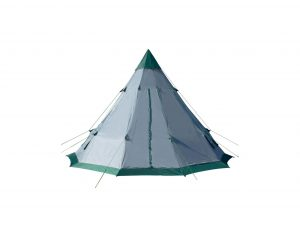 Winterial 6 to 7 Person Teepee Tent with Mesh Vents and Windows