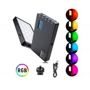 Weeylite Upgraded RGB LED Video Light