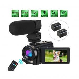 Aabeloy 1080P 30FPS Cheap HD Video Camera