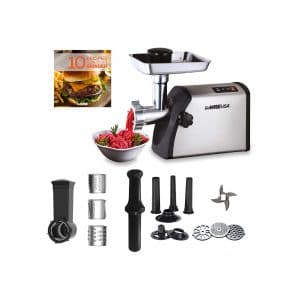 GoWISE USA 4-In-1 Heavy Duty Meat Grinder
