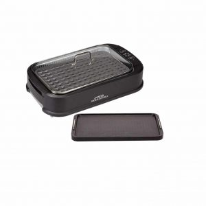 Power Smokeless Grill and Tempered Glass Lid