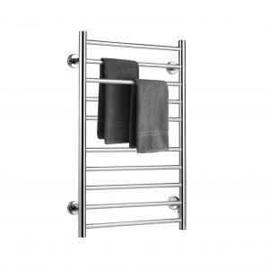Tangkula Heated Towel Warmer, Space Saving Drying Rack