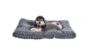 AmazonBasics Plush Pet Dog Bed Pad