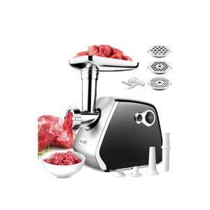 Aolier Electric Meat Grinder 3-In-1 2000W Motor