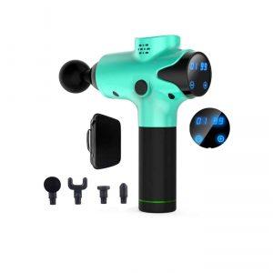 HLDUYIN Massage Gun 4 Heads Body Massager Gun