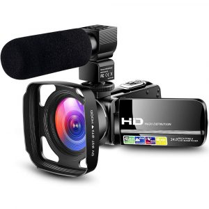 LVQUONE Camcorder Cheap HD Video Camera