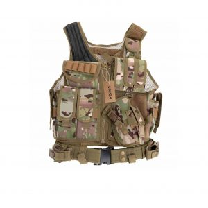Lixada Tactical Vest Military Airsoft Vest
