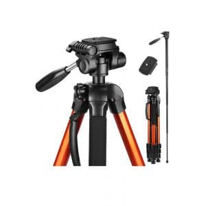 Victiv 72-Inches Tall Tripod Portable for Digital Cameras