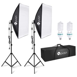HPUSN Softbox Lighting Kit