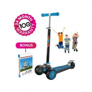 MOBIUS Toys Scooter for Kids, Handlebars Adjustability, 24 Months Guarantee