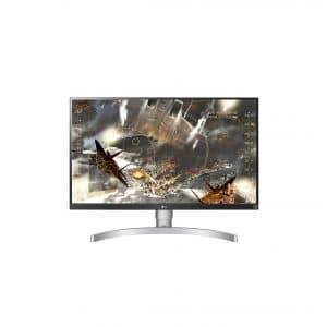 LG 27UL650-W 27-Inch LED 4K UHD Monitor w: VESA DisplayHDR 400