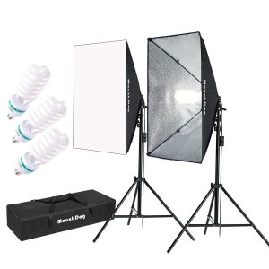 MOUNTDOG Softbox Lighting Kit