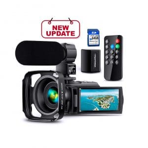 NAPATEK Ultra HD Video 1080p 24MP Camera
