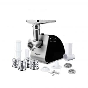 Nictemaw 9-In-1 Electric Food Meat Grinder 2000W