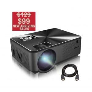BARZAA Video Projector 4200Lux
