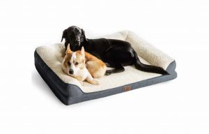 Bedsure Orthopedic Large Dog Bed with Memory Foam and Waterproof Liner