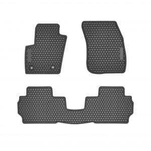 Bonbo Floor Liner Mats Rear and Front Seat Floor Mats, Odorless