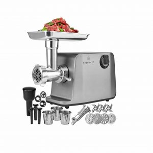 ChefWave 4 Grinding Plates 1800W 3 Cutting Blades