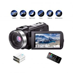 LINNSE 1080 30FPS Camcorder Video Camera