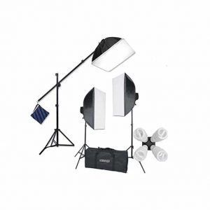 StudioFX Softbox Lighting Kit