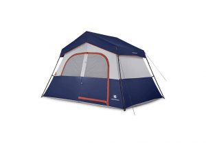 HIKERGARDEN 6 Person Camping Tent Windproof and Waterproof Camping Tent