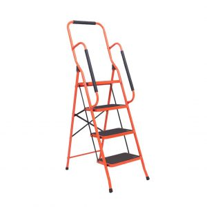 LUISLADDERS Folding 4 Step Stool