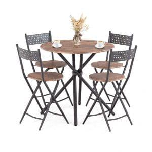 Mecor 5 Pcs Dining Table