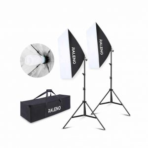 RALENO Softbox Lighting Kit