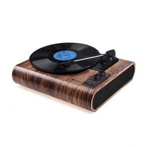 VOKSUN Vintage Record Player