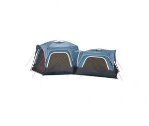 Coleman 6-Person and 3-Person Connectable Tent Bundle, Set of 2, Blue