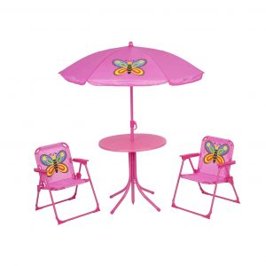 Elnsivo Kids Folding Picnic Table and Chairs Set