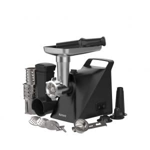 Nutronic Meat Grinder 1300W 3 Grinding Plates