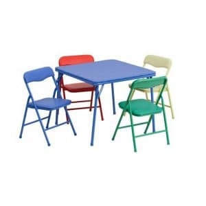 Parkside 5 Piece Folding Table and Chair Set