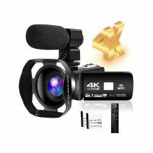 SEREER 4K HD Camcorder 48MP 30FPS 3.0 Inches Camera