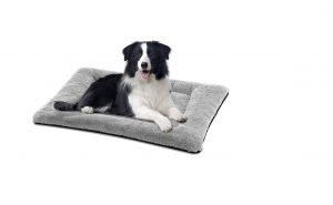 SIWA MARY Dog Bed with Anti-Slip Mattress and Soft Crate Pad for Dogs and Cats
