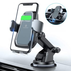 VICSEED Motorized Fast Wireless Upgraded Car Charger