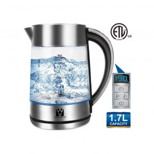 Vestaware Electric Kettle Glass Water Heater