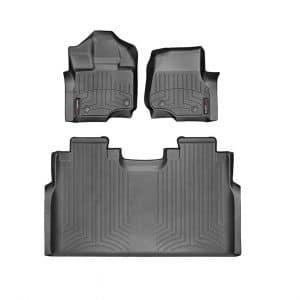 WeatherTech Ford F-150 Custom Fit FloorLiner (Black)
