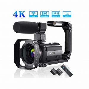Aasonida 4K 60FPS Video Camera 48MP YouTube Camera